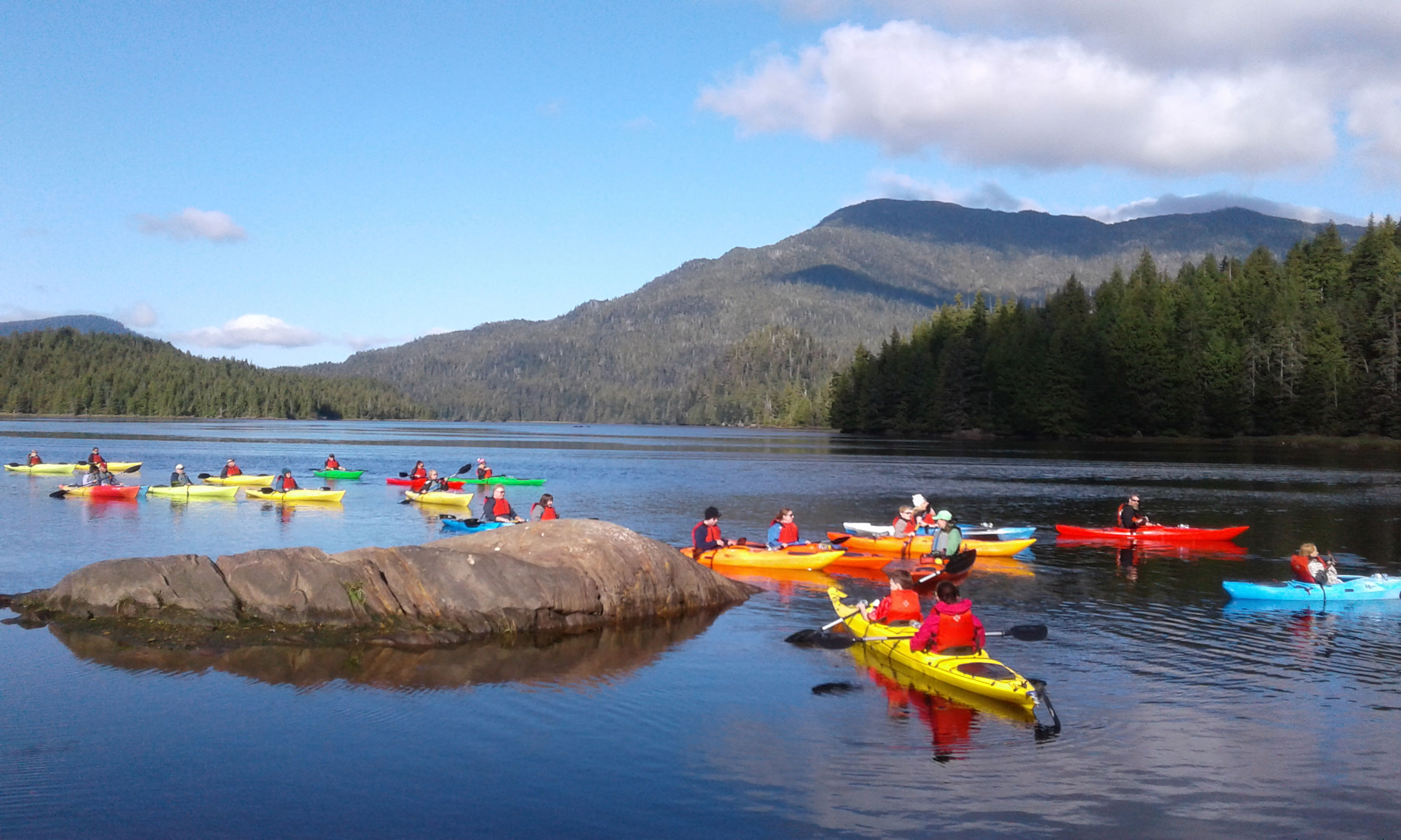 Kayaking in Prince Rupert
