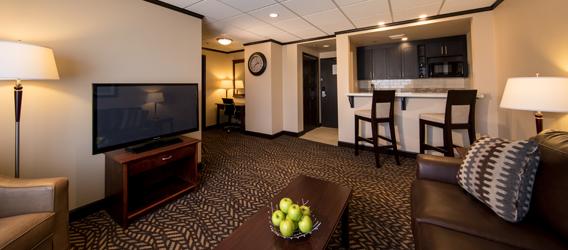 Suite at Prestige Prince Rupert Hotel
