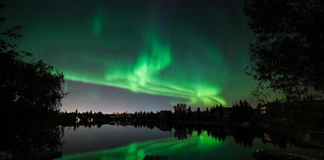The Northern Lights in Prince George