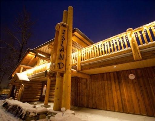 The Island Restaurant in Golden, BC