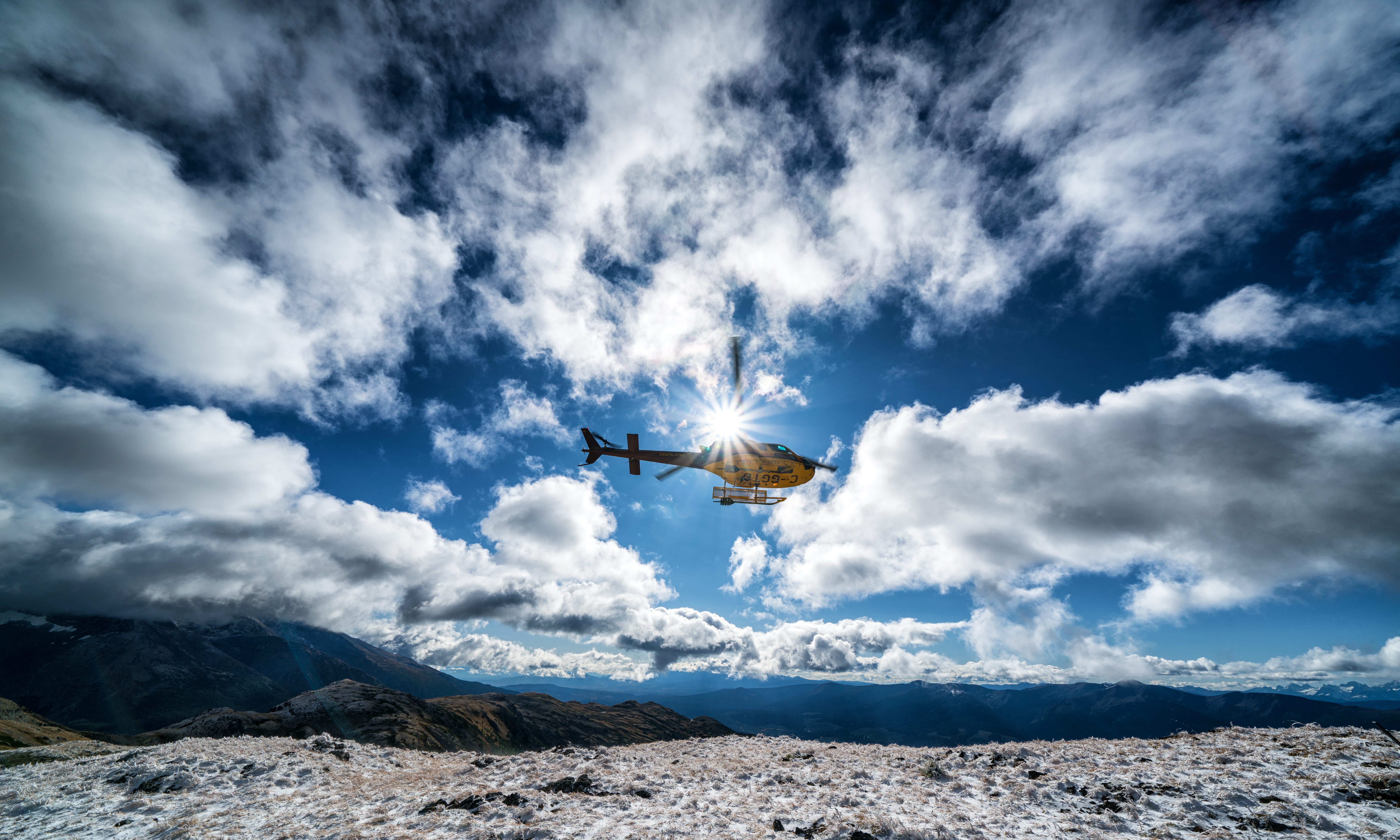 Helicopter Ride in Smithers, BC