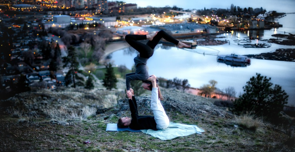 Knox Mountain Acroexercise
